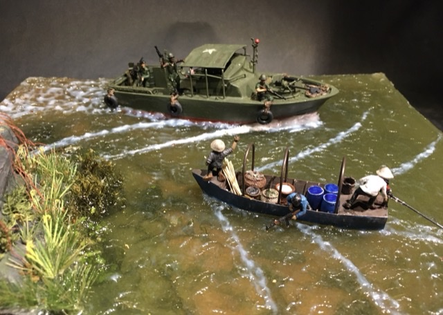 Patrol boat river MkII Delta du Mecong 1970 (Mach2 1/7°) - Page 3 156cf110