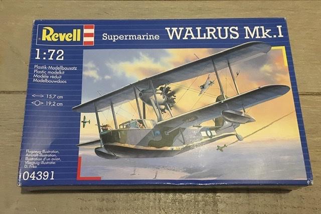 Supermarine Walrus Mk1 revell 1/72 28677610