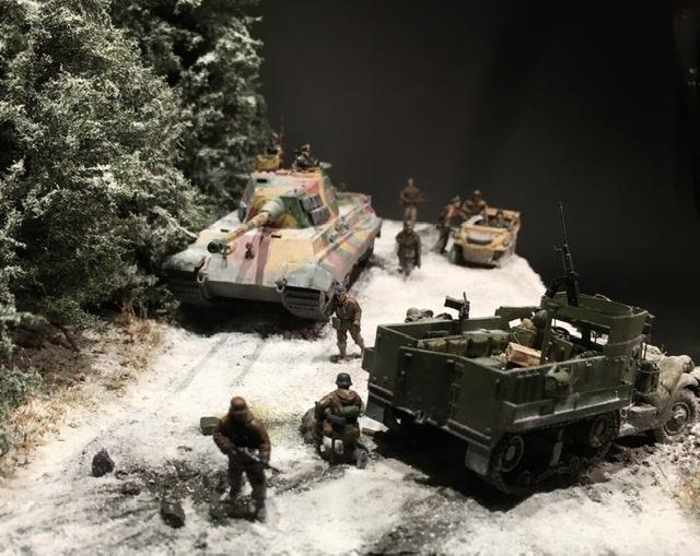 Koenigstiger dans les Ardennes le 22 décembre 1944 1/72 29288c10