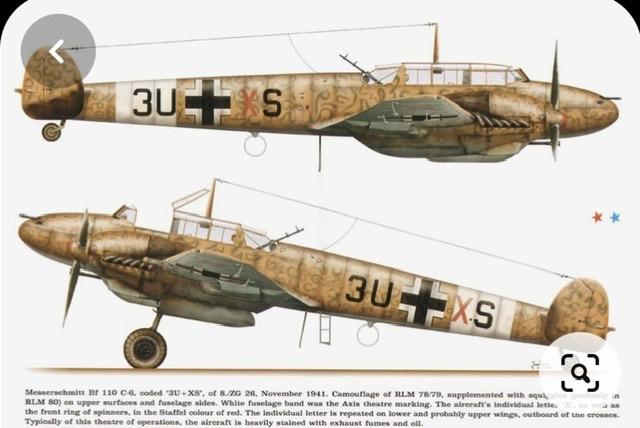 Bf 110 C6 zerstörer édition limitée 1/48 6aa03a10