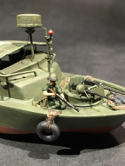 Patrol boat river MkII delta du mecong 1970 Mach 2 1/7 8d8be010