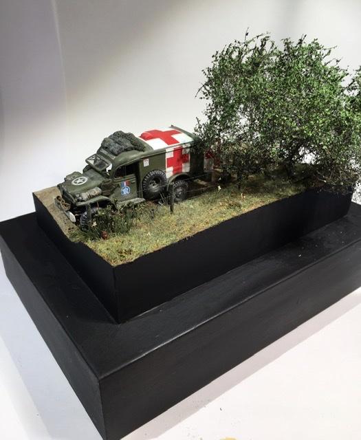 13 aout 1944 ambulance WC54 du groupe Rochambeau. A6f39210