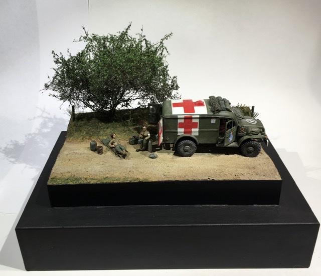 13 aout 1944 ambulance WC54 du groupe Rochambeau. Df5a3610