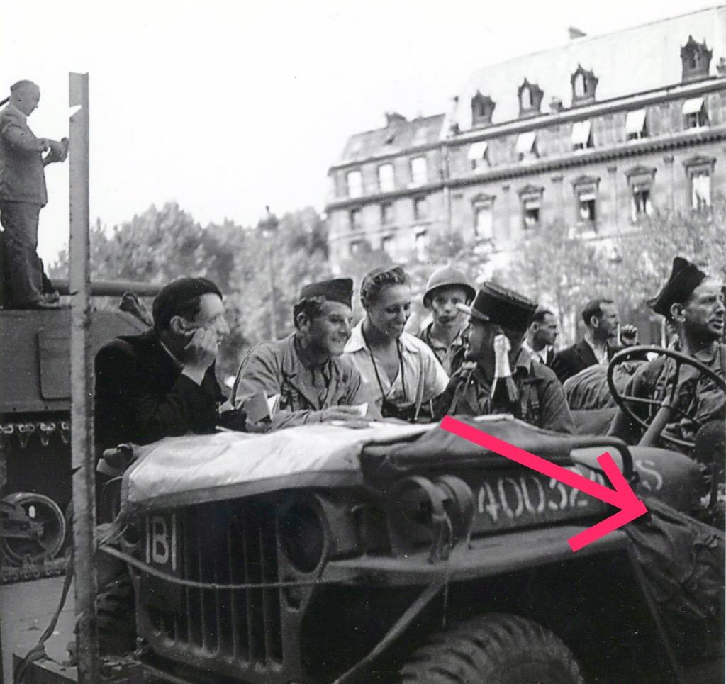 25 aout 1944, rue des archives, Paris. Jeep mort aux cons Heller 1/72 - Page 2 Img_2125