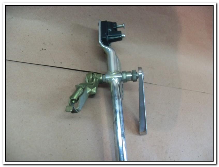 GL 500, Schlüssel für Gepäckträger und Staufach Verrie10