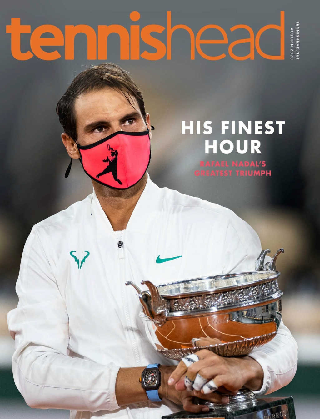 Nadal dispatches Djokovic to win record-equalling #20; responds to Federer's classy message  B4a99810