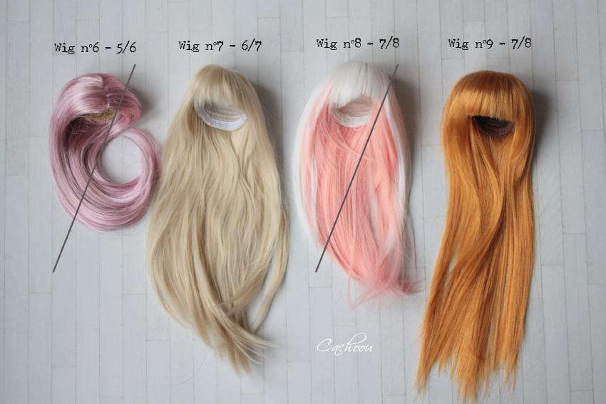[V] Wigs 5/6 - 6/7 - 8/9 Monique Dollheart Vente_11