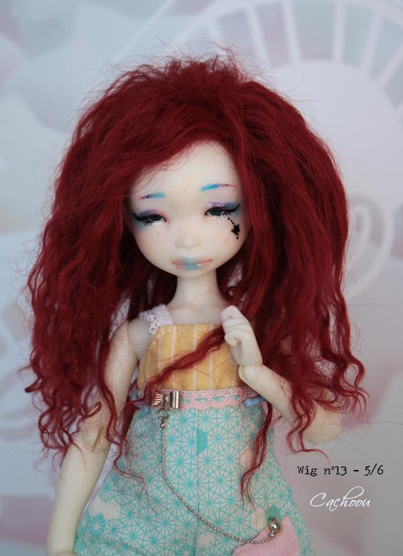 [V] Wigs 5/6 - 6/7 - 8/9 Monique Dollheart Wig_1311
