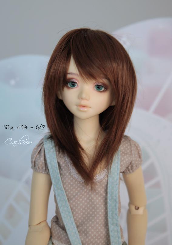 [V] Wigs 5/6 - 6/7 - 8/9 Monique Dollheart Wig_1410