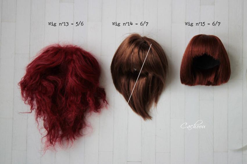 [V] Wigs 5/6 - 6/7 - 8/9 Monique Dollheart Wigs2012