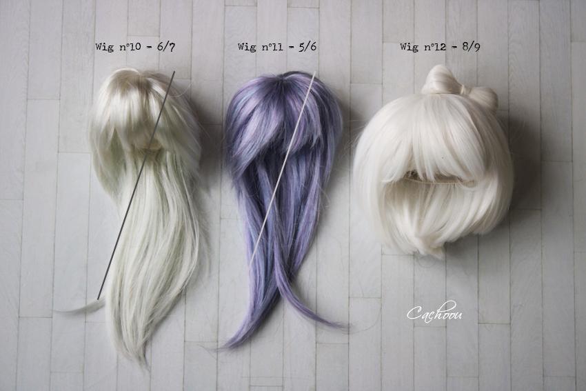 [V] Wigs 5/6 - 6/7 - 8/9 Monique Dollheart Wigs2013