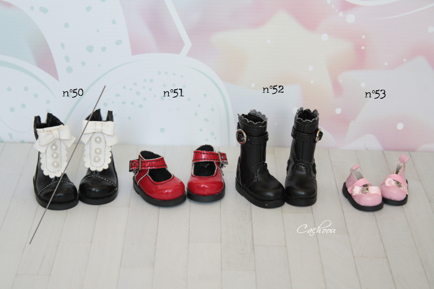 [V] Outfit Blythe Pullip Dal SD MSD YOSD chaussures collants Yosdki11