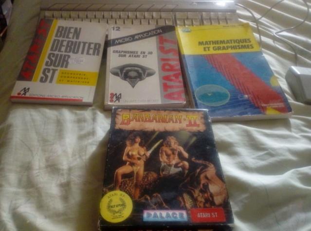 [VENDU] ATARI 520 STF en boite + disquettes + livres Atari-12