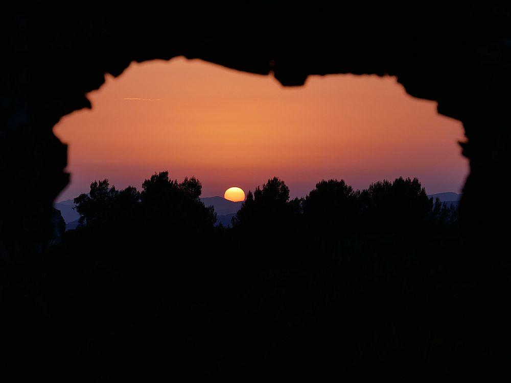 Coucher de soleil en plein été P1070011