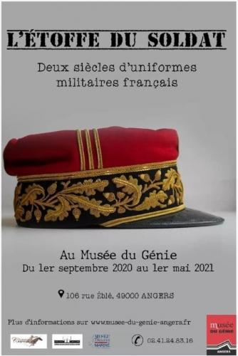 Exposition sur deux siècles d'uniformes militaires français au musée du Génie 12658110