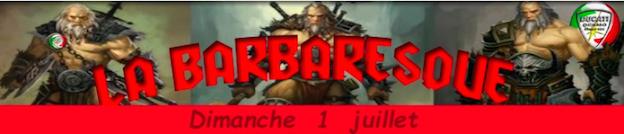 La BARBARESQUE  2ème Edition Captur23