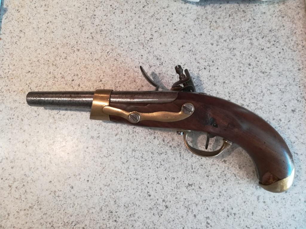 Identification pistolets 19ème Tulle410