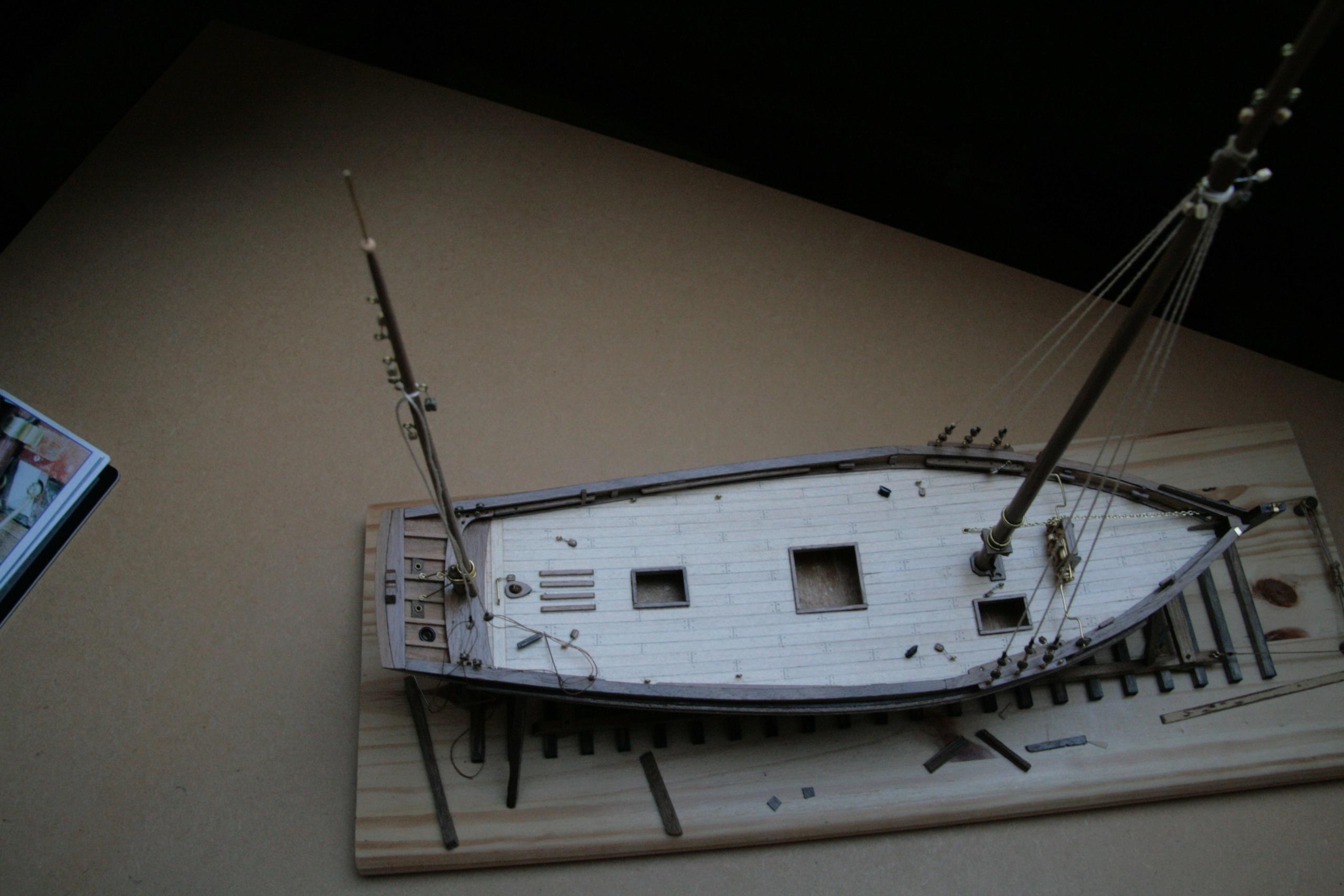 Les réalisations terminées de Loup, La Marie-Jeanne thonnier de Concarneau Img_3819