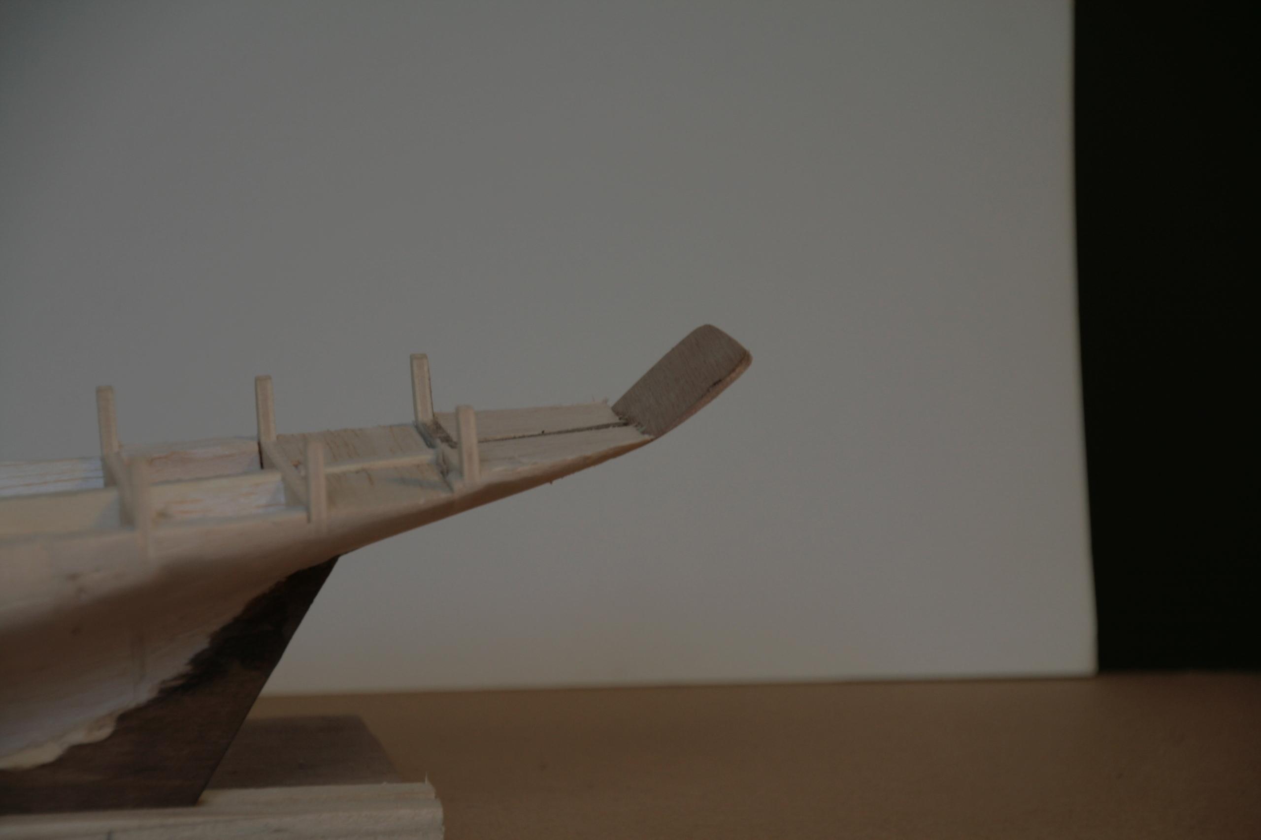 Les réalisations terminées de Loup, Le Petrel bisquine de Cancale Img_7413