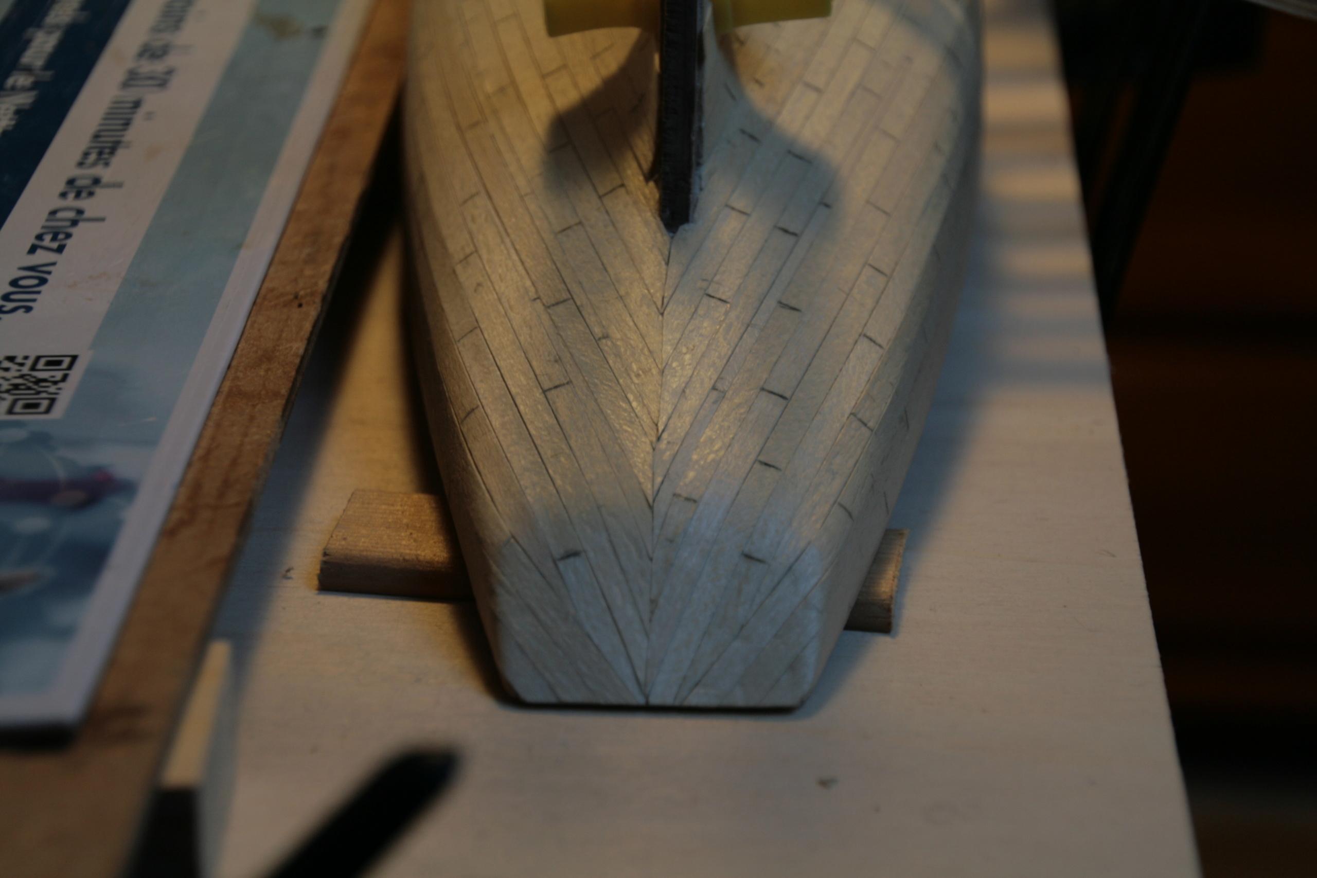 Les réalisations terminées de Loup, Le Petrel bisquine de Cancale Img_7711