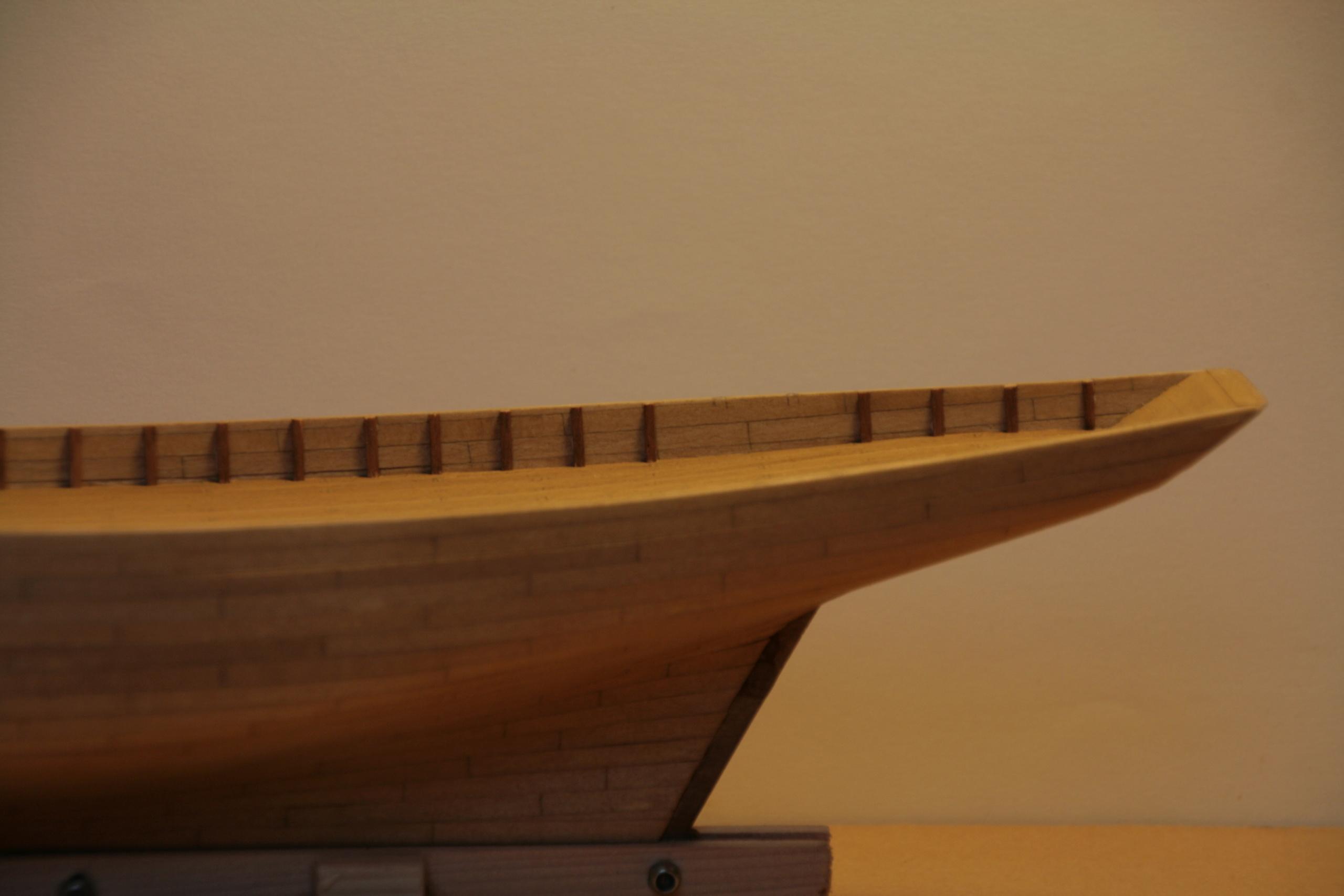Les réalisations terminées de Loup, Le Petrel bisquine de Cancale Img_7722