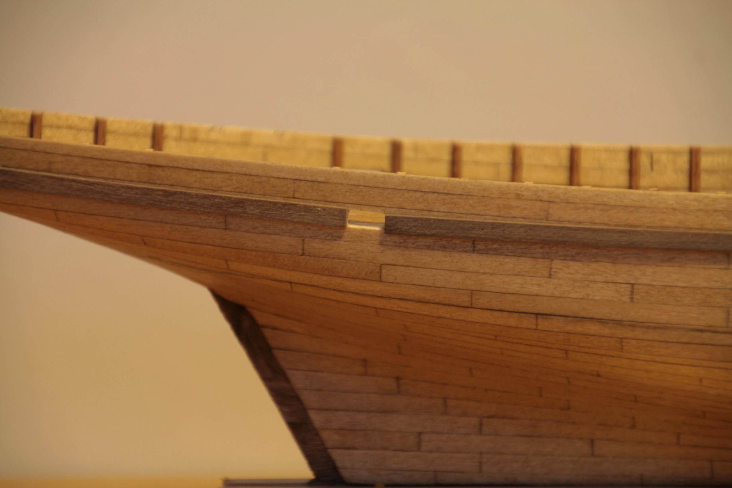Les réalisations terminées de Loup, Le Petrel bisquine de Cancale Img_7811