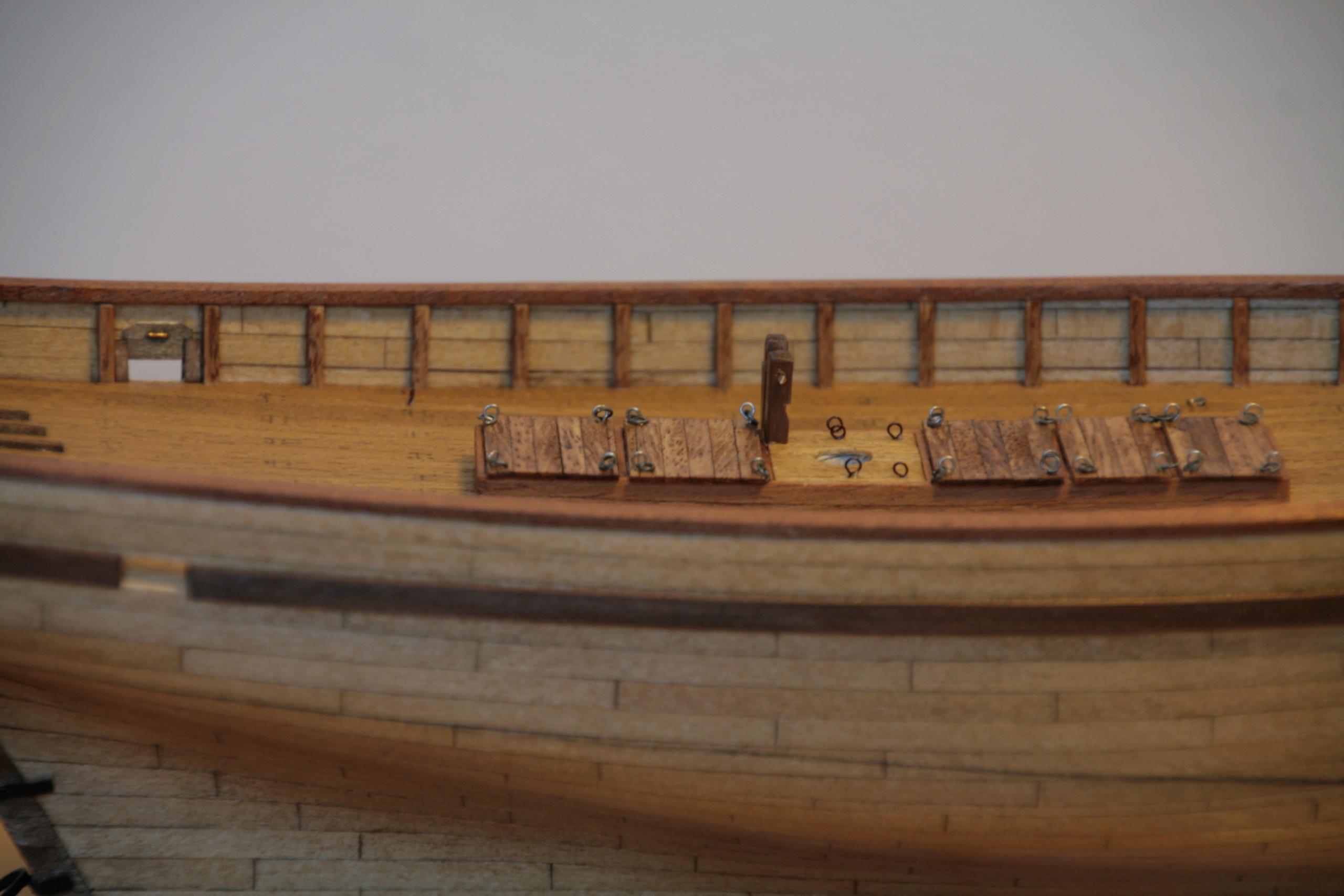 Les réalisations terminées de Loup, Le Petrel bisquine de Cancale Img_7818