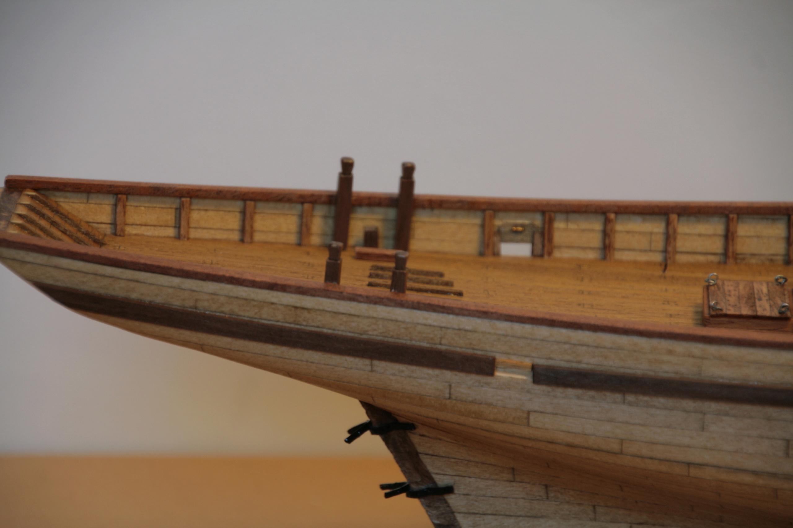 Les réalisations terminées de Loup, Le Petrel bisquine de Cancale Img_7820