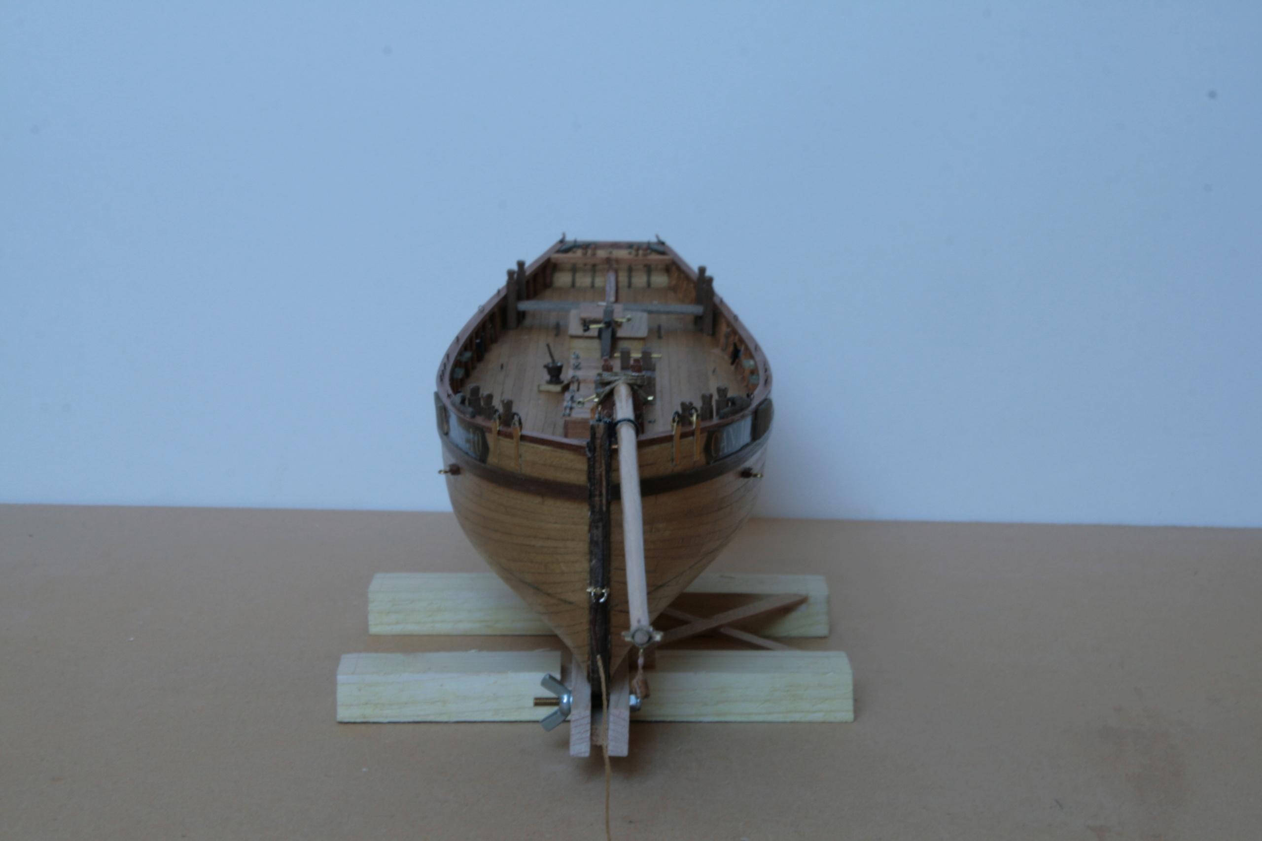 Les réalisations terminées de Loup, Le Petrel bisquine de Cancale Img_7911