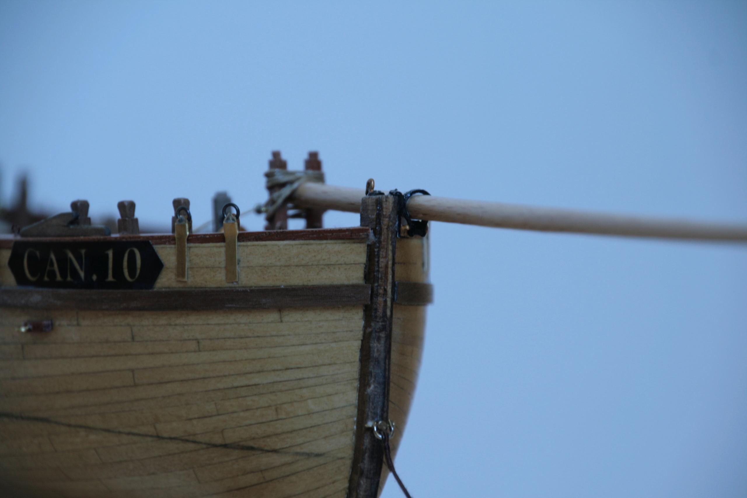 Les réalisations terminées de Loup, Le Petrel bisquine de Cancale Img_7913