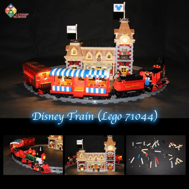 LED Lighting Kit For LEGO Disney Train And Station 71044 Li10