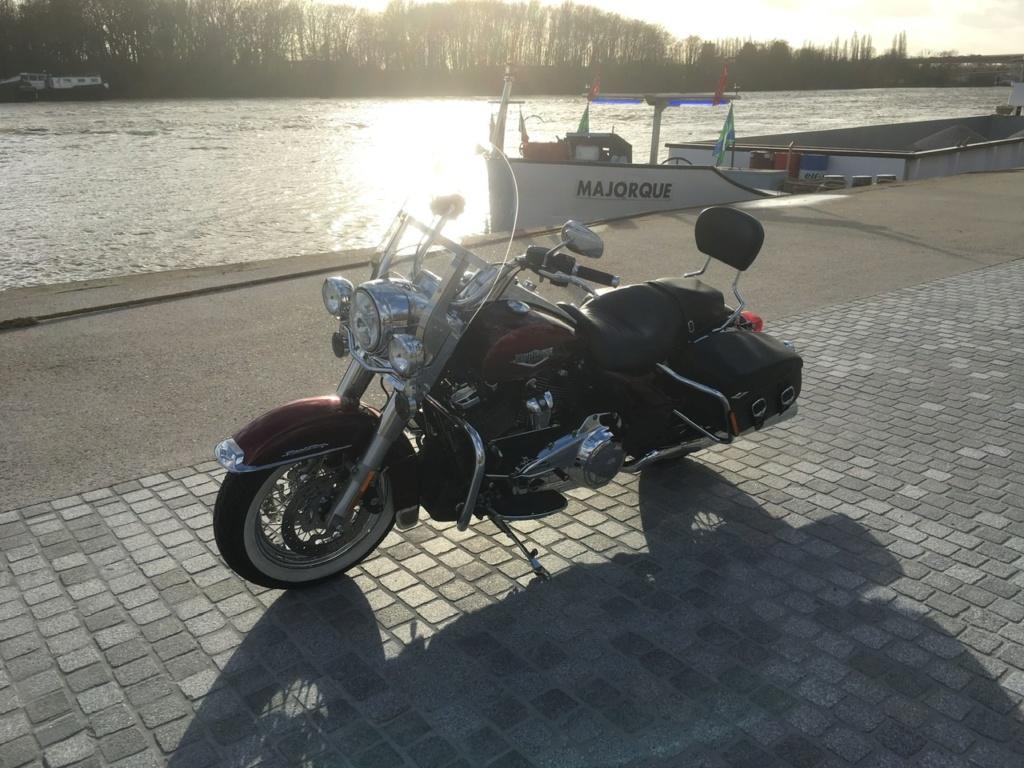 Un Road King Classic en hiver 12e48910