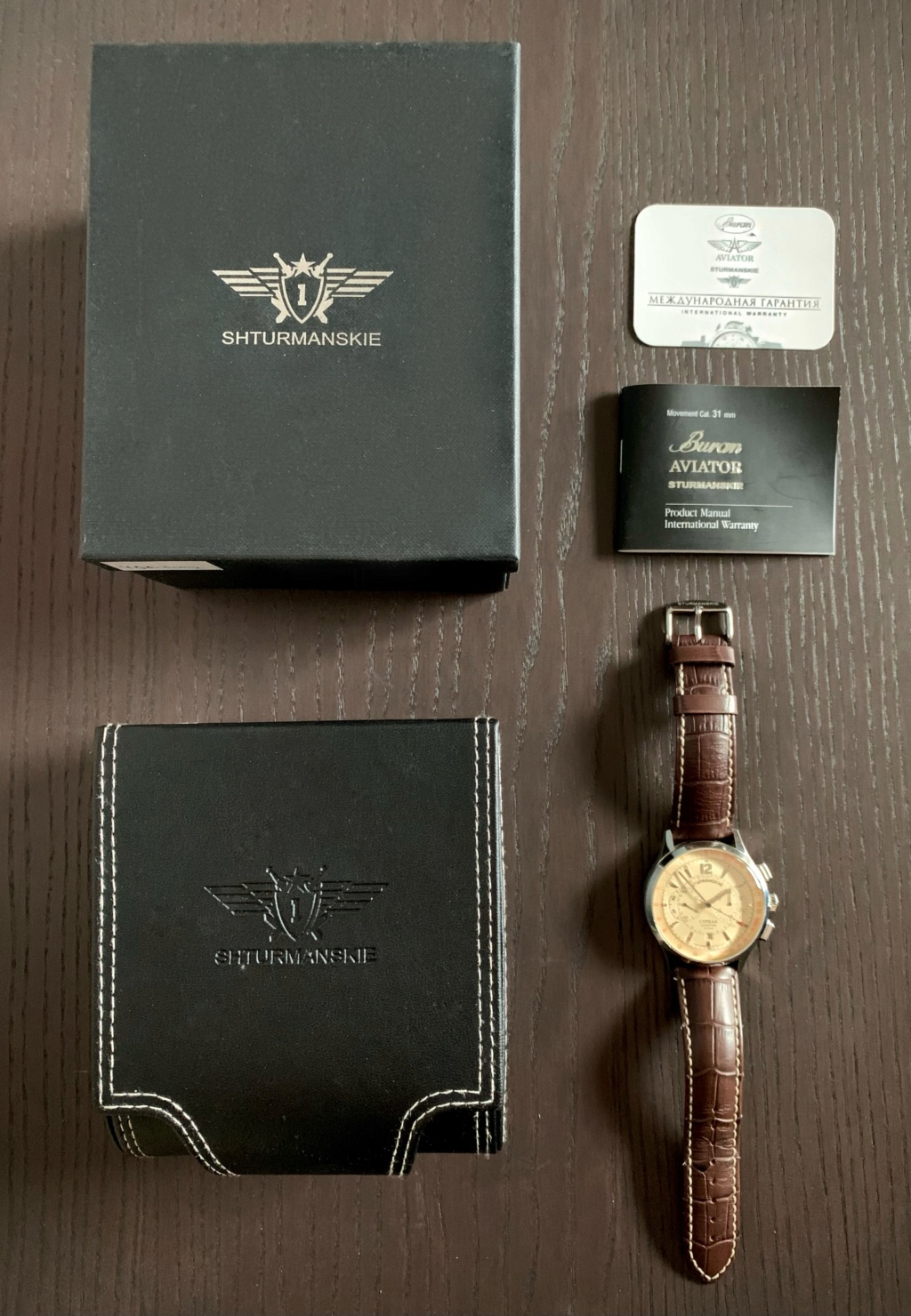 Vends Sturmanskie Strela - Volmax 44 mm 311