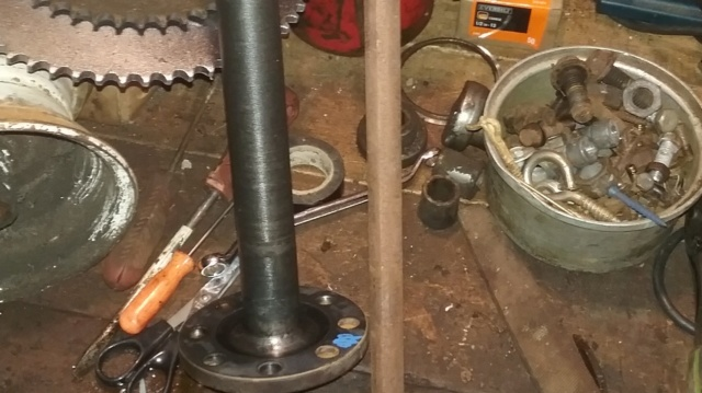 Make your own front 4 wheel drive axle? 20190519