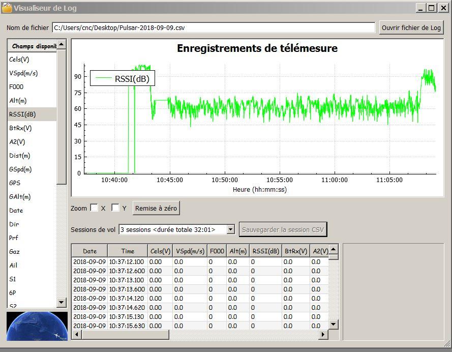 capteur GPS de frsky Captur37