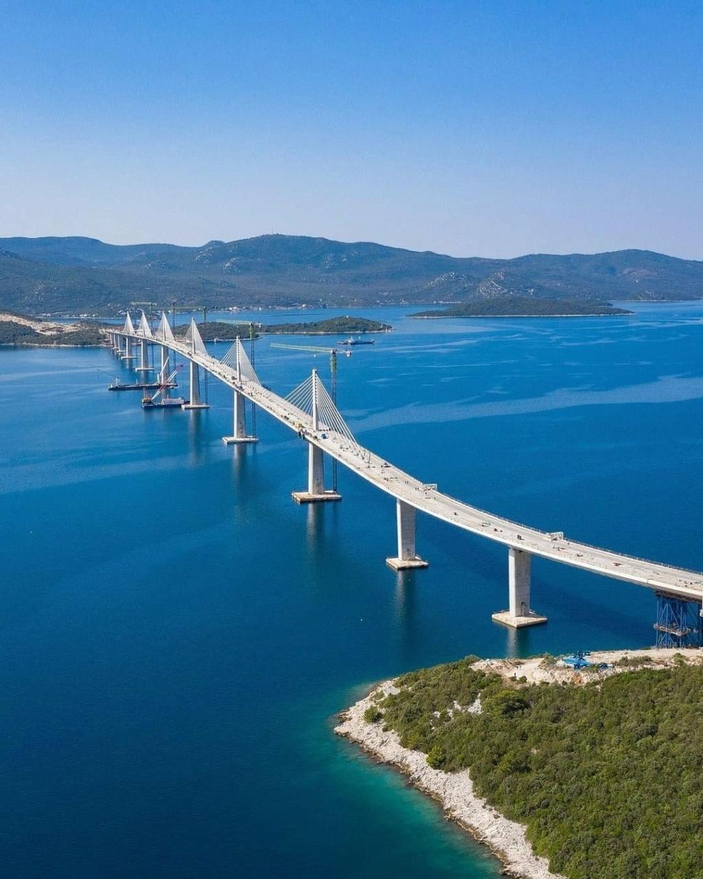 New China TV: China-constructed Peljesac Bridge progressing at speed in Croatia - Page 49 Dijagr10