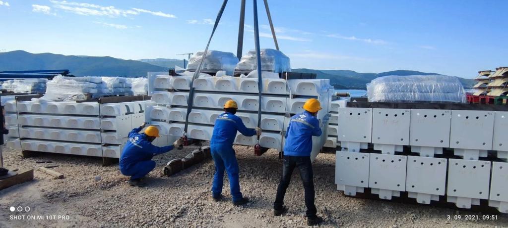 New China TV: China-constructed Peljesac Bridge progressing at speed in Croatia - Page 48 Downlo10