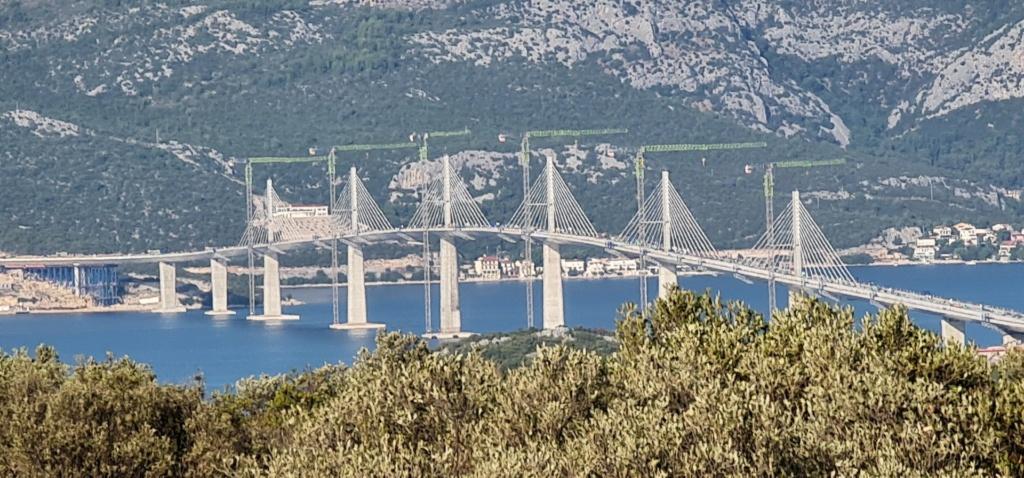 New China TV: China-constructed Peljesac Bridge progressing at speed in Croatia - Page 50 Downlo12