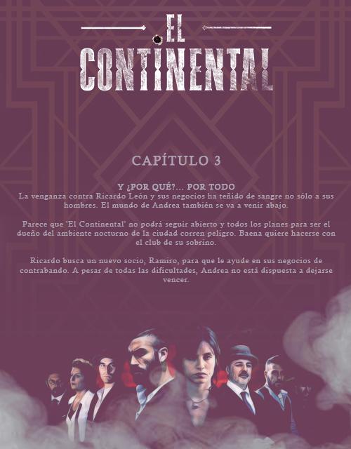 El Continental. Capítulo 3 Contin10
