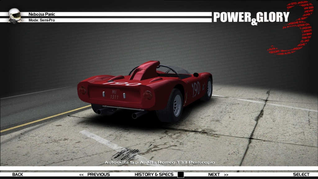 """[WIP/RELEASE] Alfa Romeo T33 """"Periscopio/Fleron"""" - Page 2 190_210"""