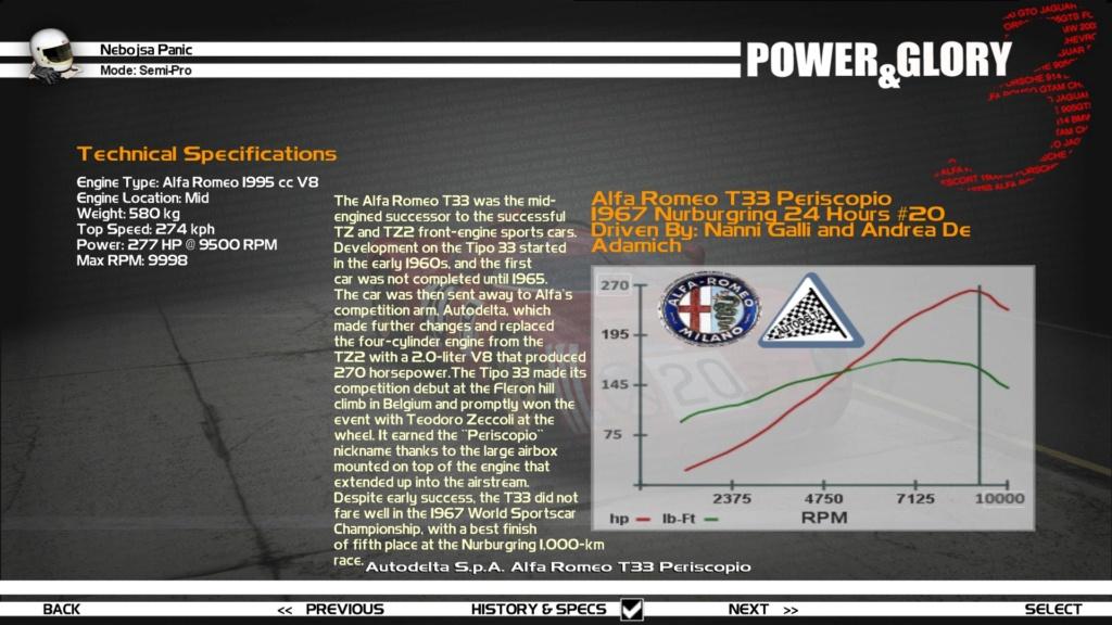 """[WIP/RELEASE] Alfa Romeo T33 """"Periscopio/Fleron"""" - Page 2 Hist_s10"""
