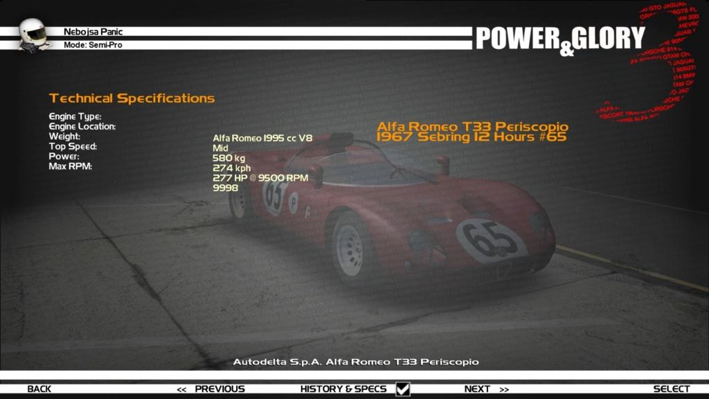"""[WIP/RELEASE] Alfa Romeo T33 """"Periscopio/Fleron"""" - Page 2 Previe11"""