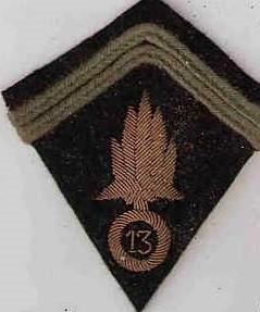 insigne tissu légion étrangère 1914-1918 13zome10