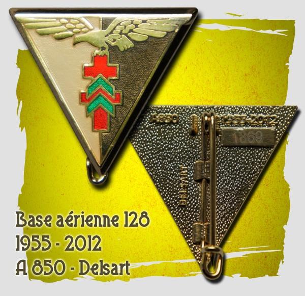 Base aérienne 128  Insigne dissolution Ba_12810