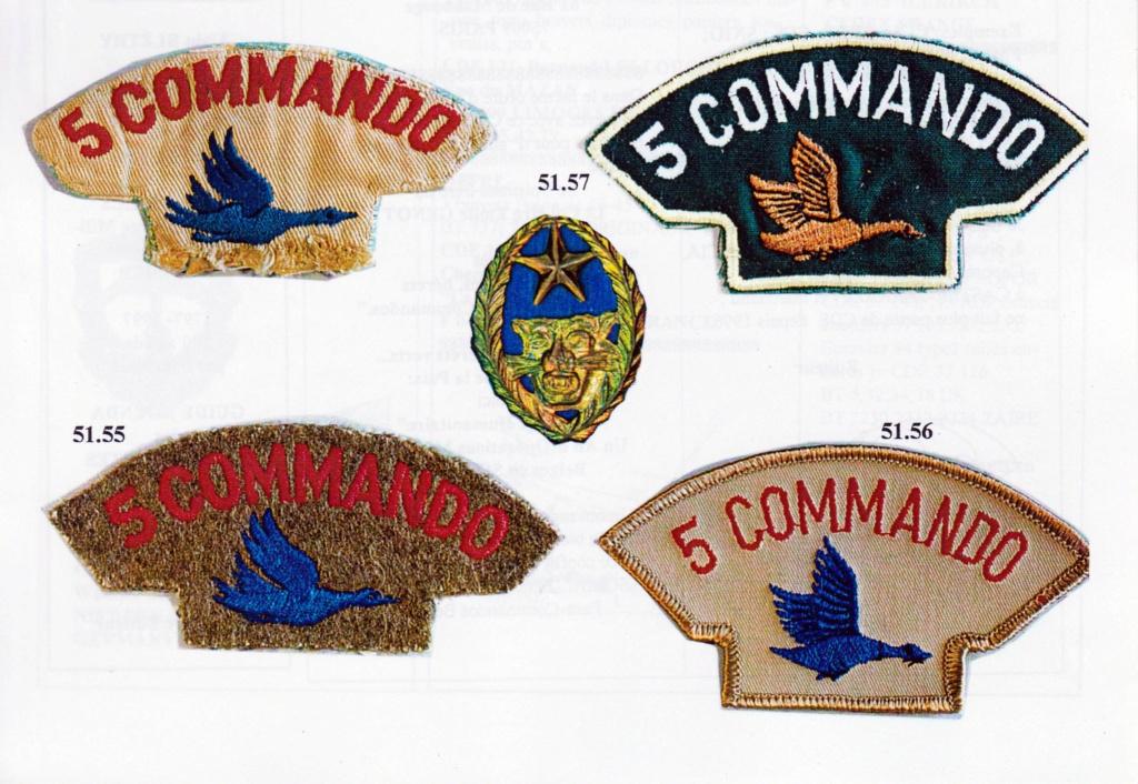Insigne Commando Parachutiste N° 5  Img_2064