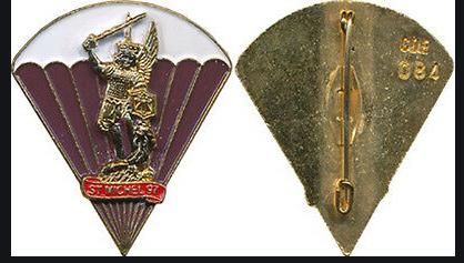 Insignes  Saint-Michel de CDE Insign10