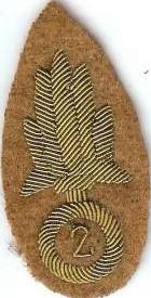 insigne tissu légion étrangère 1914-1918 Lzogio10