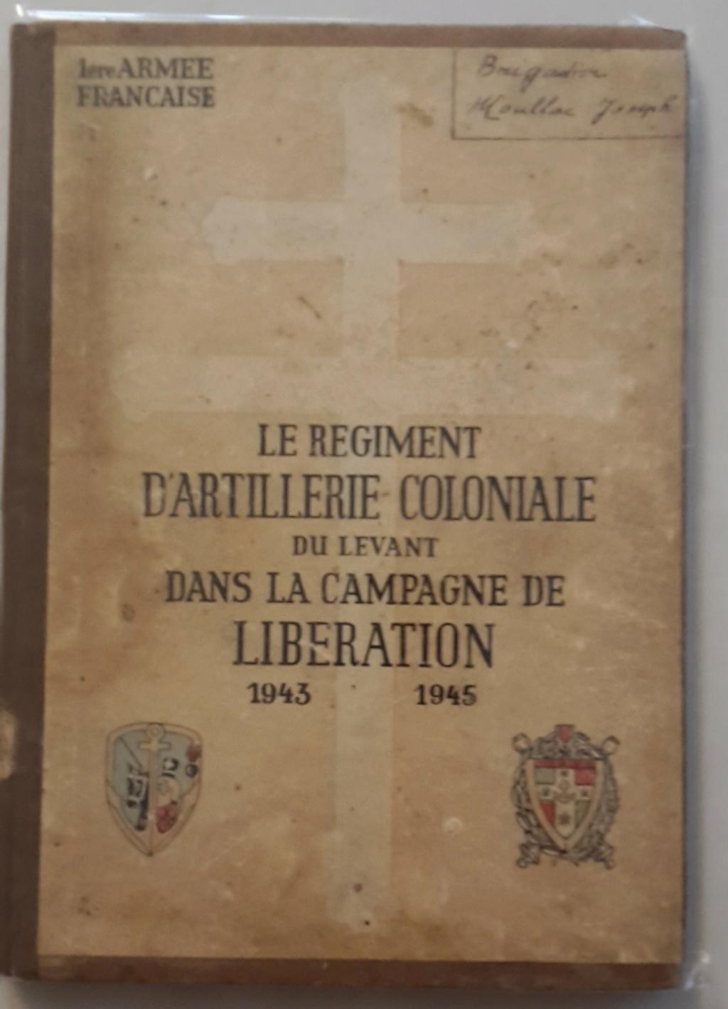 Régiment Artillerie Coloniale du Levant  Racl11