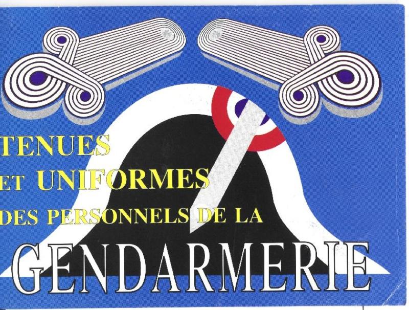 Les  Uniformes de la Gendarmerie Tenues10