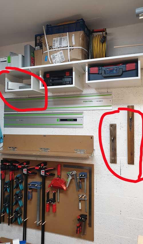 Petit établi pour petit garage... La suite, meuble systainer Festool Ab10